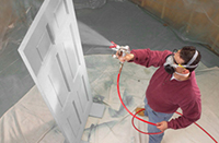 Our Services - Airless Sprayer Paintwork